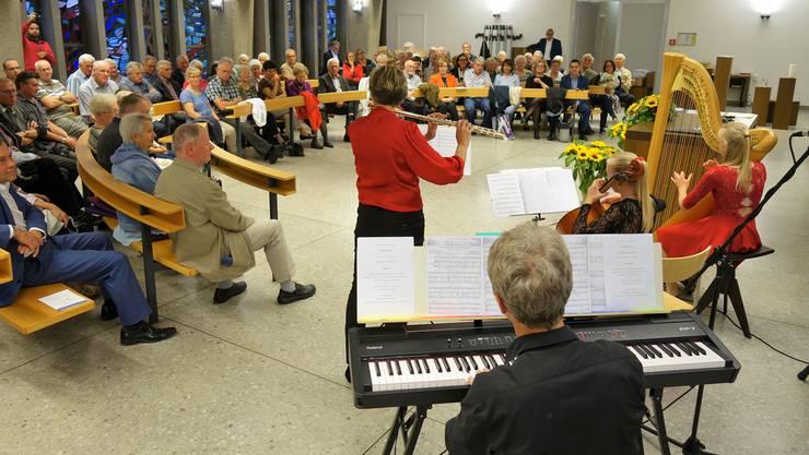 Die Familienmusik Bürger umrahmte die Jubiläums-Generalversammlung der Gönnervereinigung Pro Spital Muri.