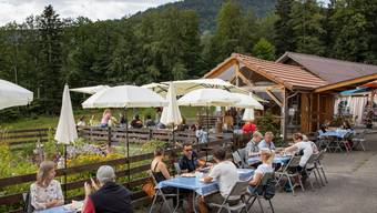1.-August-Brunch 2020 auf dem Berghof Montpelon