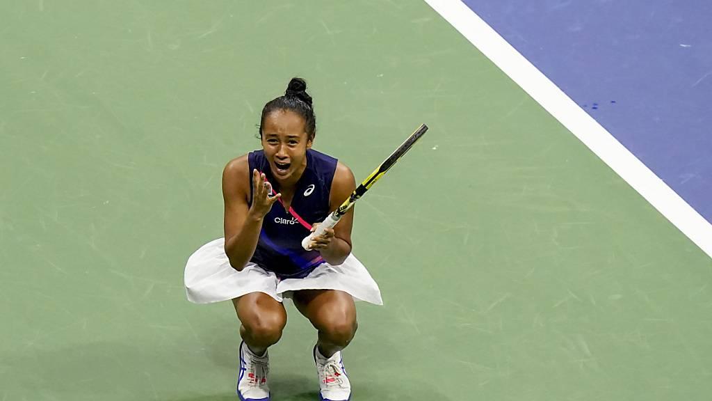 Leylah Fernandez schafft eine weitere Sensation und zieht nach dem Sieg gegen die Weltnummer 2 Aryna Sabalenka in den Final am US Open ein