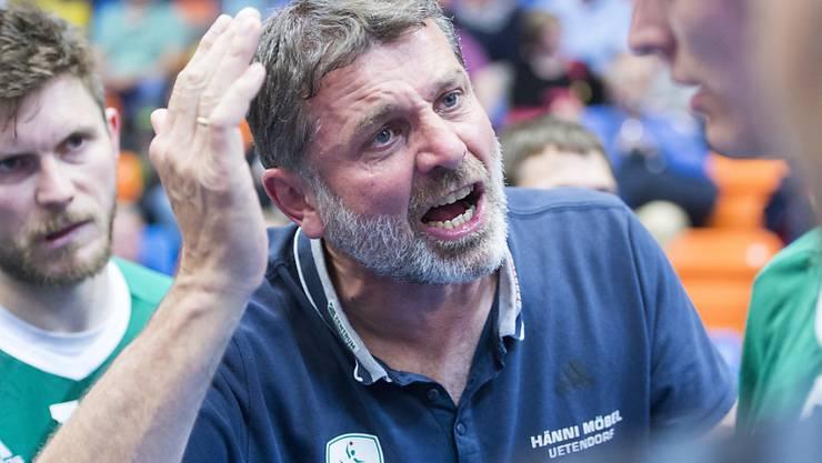 Der Thuner Trainer Martin Rubin fand die richtigen Worte