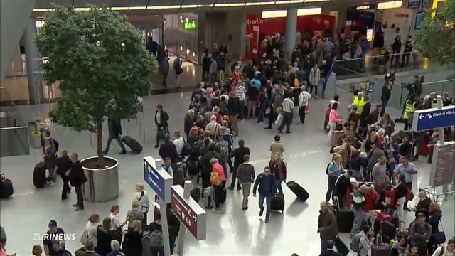 Flugausfälle bei Air Berlin