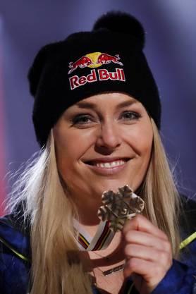 Bronze: Lindsey Vonn.