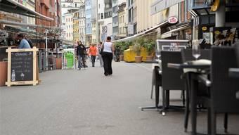 Pro Quadratmeter bewirteter Allmend bezahlt ein Restaurant 88 Franken Nutzungsgebühr pro Jahr.Martin Töngi