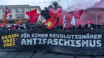 Die Demonstration «Basel Nazifrei» vom vergangenen Samstag verlief – im Gegensatz zu 2018 – friedlich.