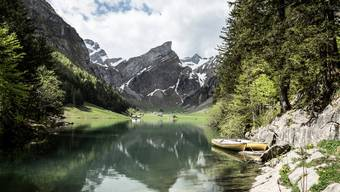 Der Seealpsee: Eine auf Instagram beliebte Destination, ebenso natürlich bei Inland-Touristen.