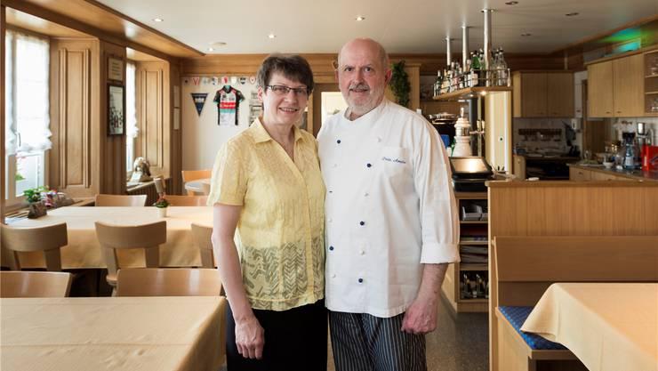 Am 28. Januar 2018 bewirten Ursula und Fritz Amsler letztmals Gäste.