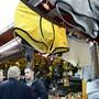 Ausgehängte Unterhosen an der Schweizer Messe für Land- und Milchwirtschaft Olma in St. Gallen 2012. (Archivbild)