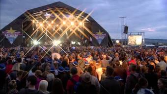 Das Argovia-Fäscht ist das grösste Open-Air-Festival im Kanton.
