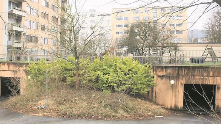 Die Tiefgarage des Bauhalden-Quartiers in Untersiggenthal ist einsturzgefährdet