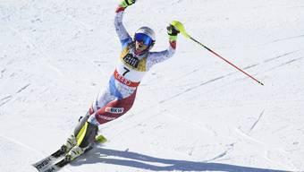 Wendy Holdener gewann im Slalom ihre zweite WM-Medaille.