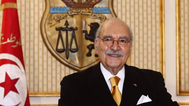 Ruft die Tunesier an die Urnen: Übergangspräsident Foued Mebazzaa (Archiv)