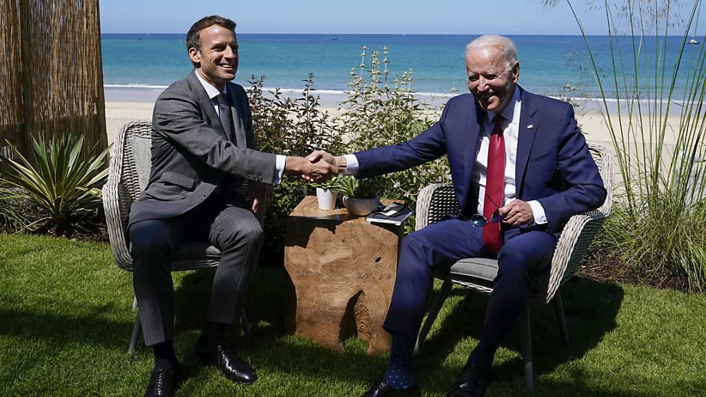 Macron: Frankreich stellt britische Souveränität nicht in Frage