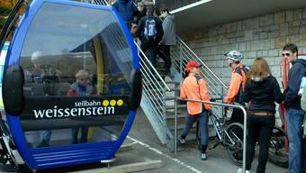 Wann kann wieder mit dem Bähnli auf den Weissenstein gefahren werden?