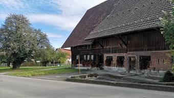 «Von weitem ballenbergmässig super schön»: Das Bauernhaus Oberdorfstrasse 13 mit seinem markanten Baum.