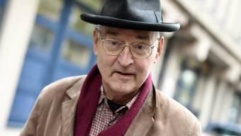 """Der als """"Sprayer von Zürich"""" bekannte Künstler Harald Naegeli will seiner langjährigen Heimatstadt Düsseldorf zahlreiche Kunstwerke schenken. (Archivbild)"""