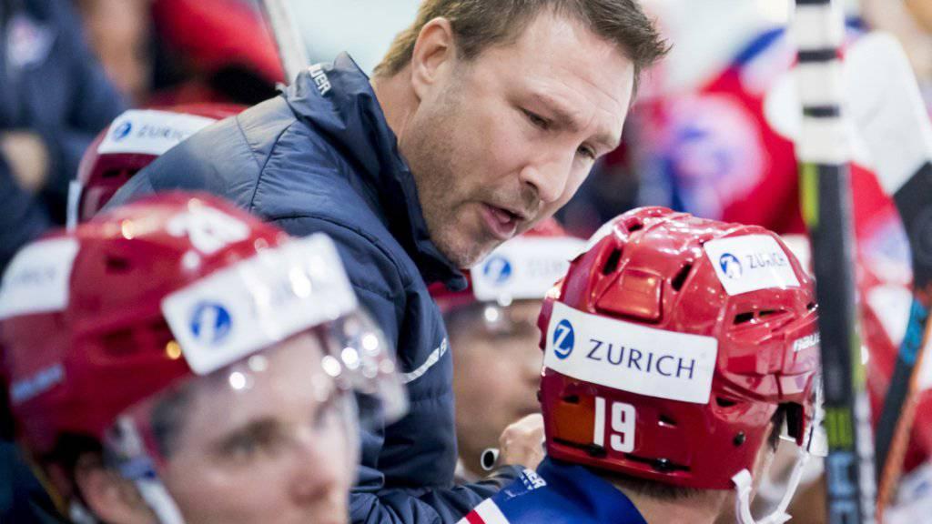 Rapperswil-Jona-Coach Jeff Tomlinson gibt seinen Spielern offenbar die richtigen Anweisungen