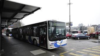 Busbahnhof Busbetriebe Olten und Umgebung. (Archivbild)