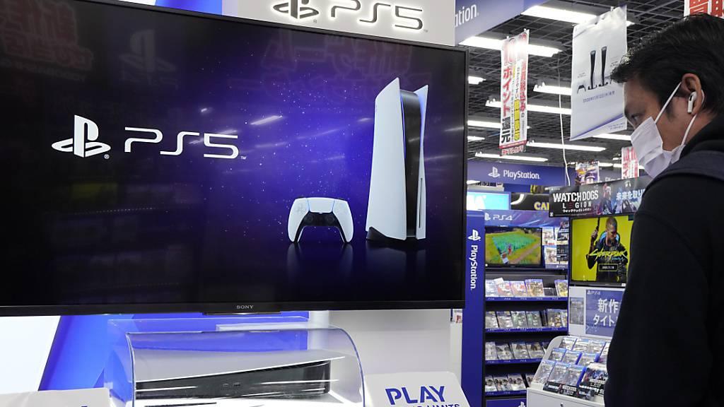 Sony schreibt dank Playstation so viel Gewinn wie noch nie (Archvibild)