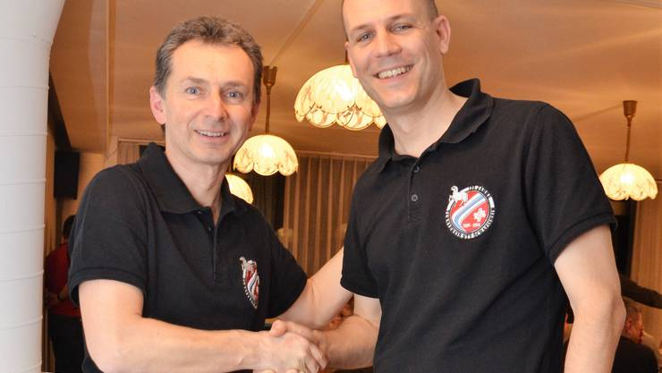 Roland Treier (links) und Stefan Riner (rechts)
