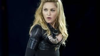 Findet Datendiebstahl nicht lustig: Madonna (Archiv)
