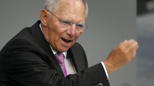 Geld für Athen: Deutschlands Finanzminister Schäuble (Archiv)