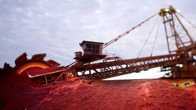 Australiens Wirtschaft profitiert vom hohen Rohstoffbedarf (Archiv)