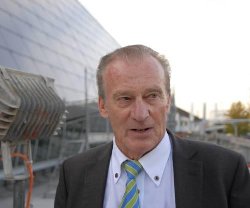 Walter Schmid Initiant und Bauherr der Umwelt Arena Spreitenbach