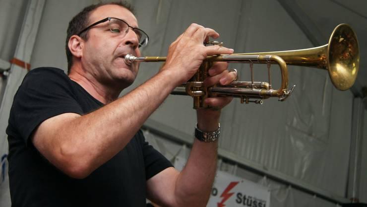 Trompeter und Bandleader Bernhard «Schugi» Schoch der Big Band Connection