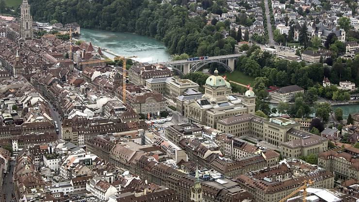 Hohes Umweltbewusstsein, saubere Luft und hohe Sicherheit sowie ein hohes Durchschnittseinkommen: Expats vergeben der Stadt Bern gute Noten. (Themenbild)