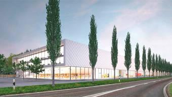 So soll das Gebäude der Taracell AG nach dem Umzug nach Niederwil aussehen.
