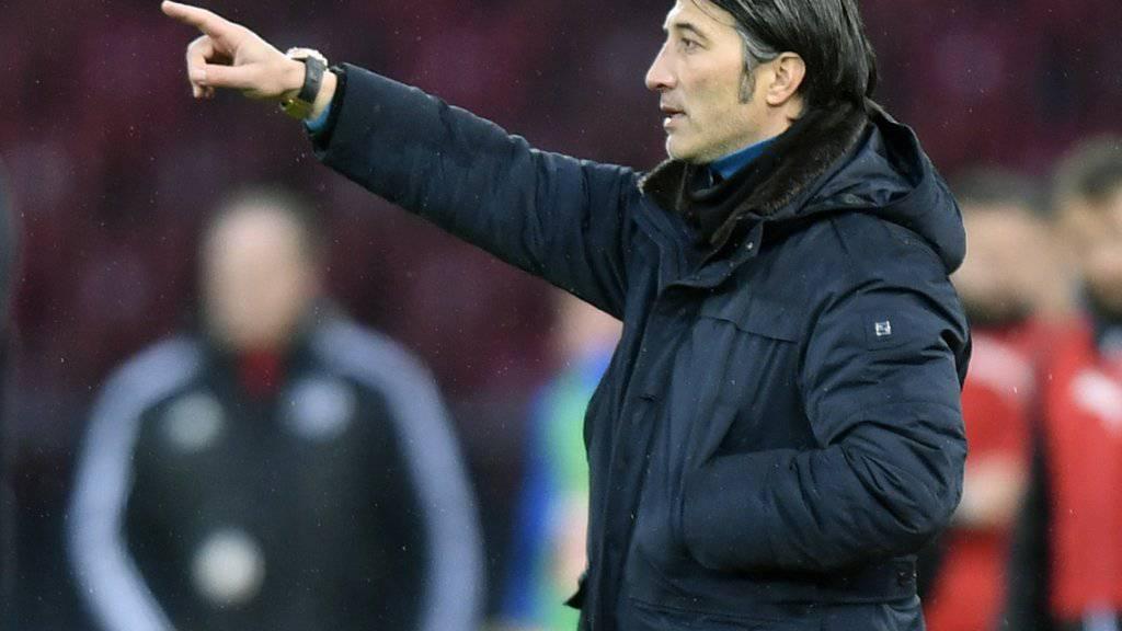 Murat Yakin will GC den Weg zu zwei Derby-Siegen weisen