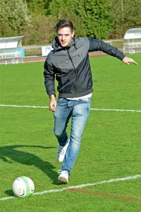 Im Herbst darf er im Freundschaftsspiel gegen den FC Bayern München antreten.