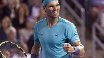 Rafael Nadal greift in Montreal nach einem weiteren Titel