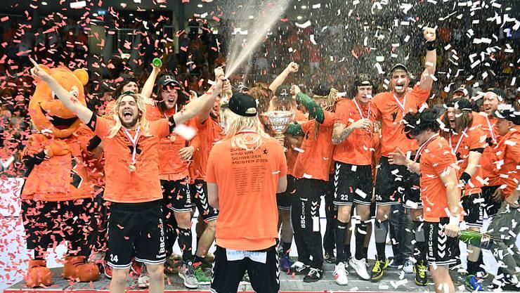 Die Kadetten Schaffhausen steigen erneut als Favoriten in die NLA-Meisterschaft