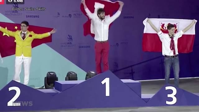 """Schweizer Medaillenrekord an """"WorldSkills"""""""