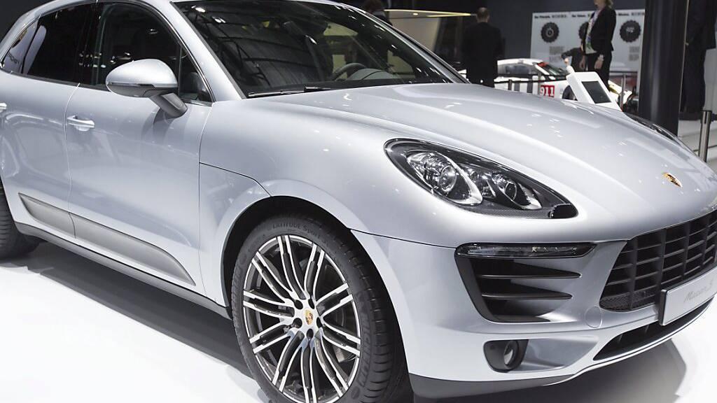 Porsche verkauft weniger Autos in der Schweiz