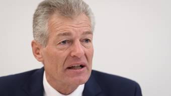 Economiesuisse-Präsident Heinz Karrer warnt vor einer Wirtschaftskrise, «wie wir sie seit dem Zweiten Weltkrieg nicht mehr gesehen haben».