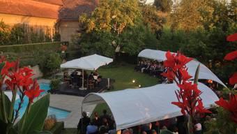 Es ist nicht alles Oper, was diese Tage openair klingt: Das Hirzenbergfestival bietet Top-Musiker im prächtigen Ambiente. Yolanda Senn-Ammann
