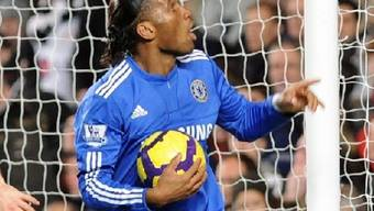 Chelsea-Doppeltorschütze Didier Drogba