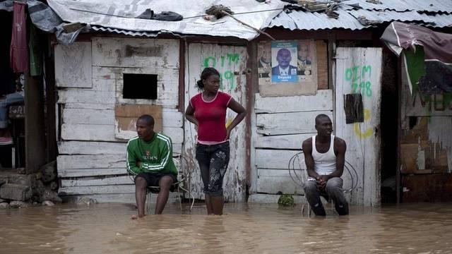 """Hurrikan """"Tomas"""" führt in Haiti zu Überschwemmungen"""