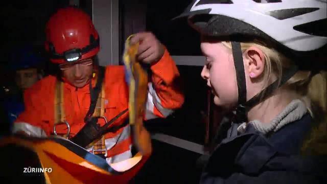 Übung: Primarschüler aus Seilbahn evakuiert