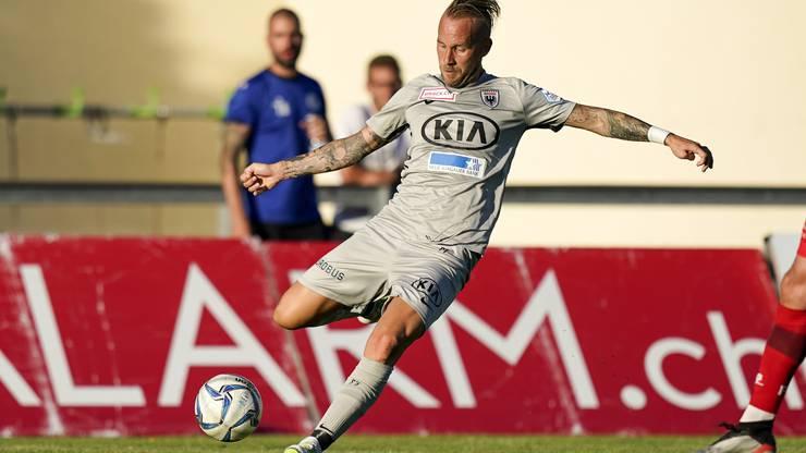 Markus Neumayr musste sich gegen Winterthur erneut mit der Reservistenrolle begnügen.
