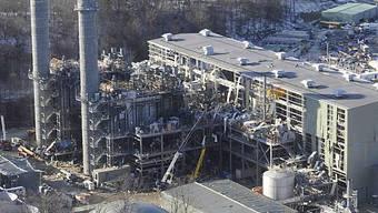 Zerstörtes Kraftwerk in Middleton