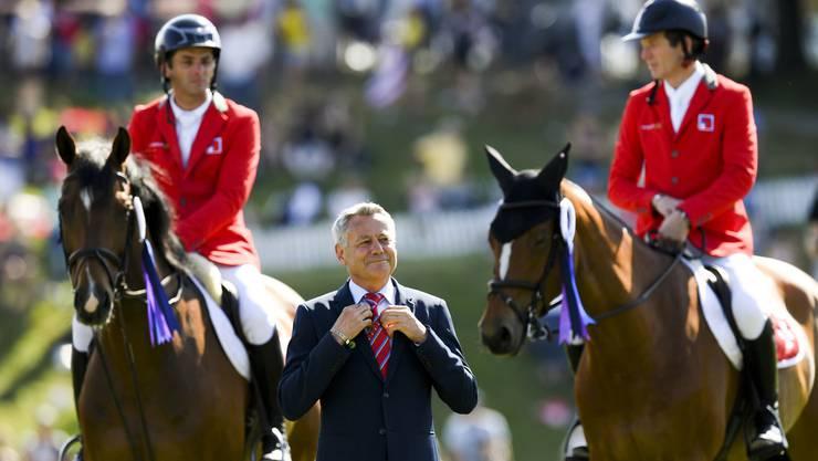 Bürgin verbleibt jedoch weiterhin im Verwaltungsrat der CSI Basel, Horse Event AG.