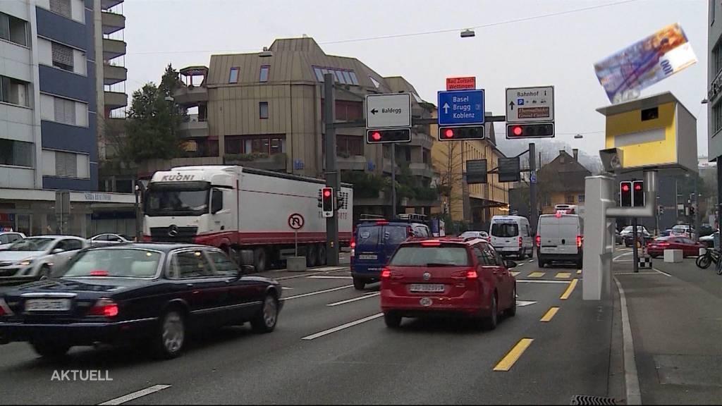 Fixer Blitzer: Stadt Baden hat es eilig