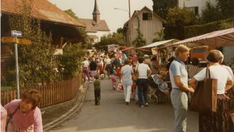 Urdorfer Muulaffemärt feiert sein 30-Jahre-Jubiläum