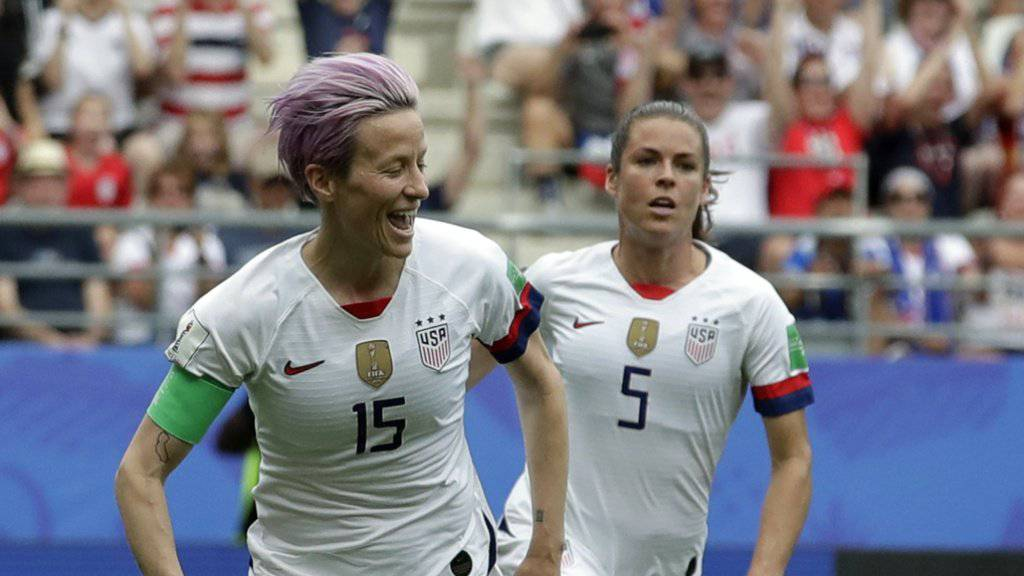 Erfolgreich an der WM, aber kein Bock auf Präsident Trump: US-Captain Megan Rapinoe