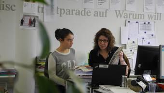 Zukunftstag: Laura Leardini auf der SZ-Redaktion