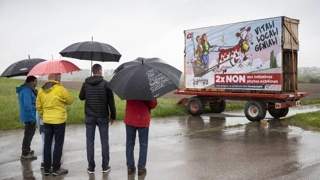 Das sagen die Bauern zum Abstimmungsergebnis