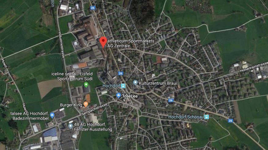 Athleticum-Zentrale in Hochdorf wird geschlossen